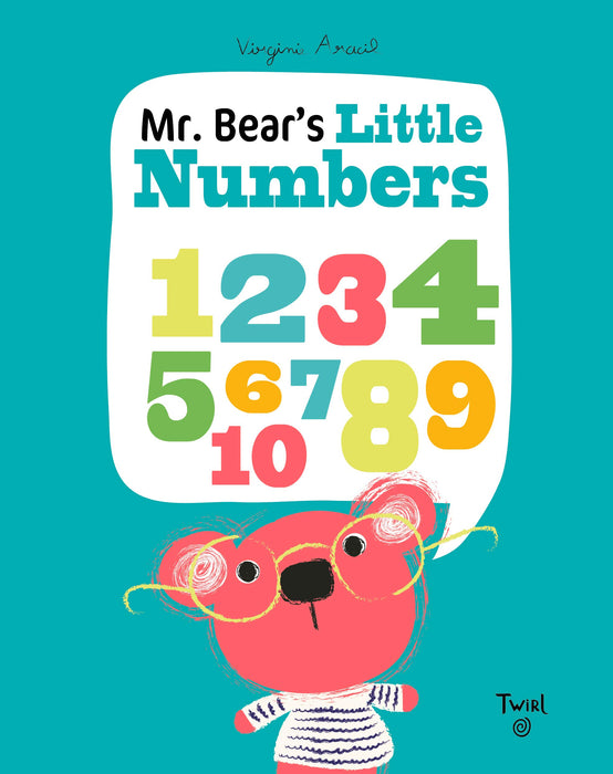 Mr. Bear's Little Numbers - JKA Toys