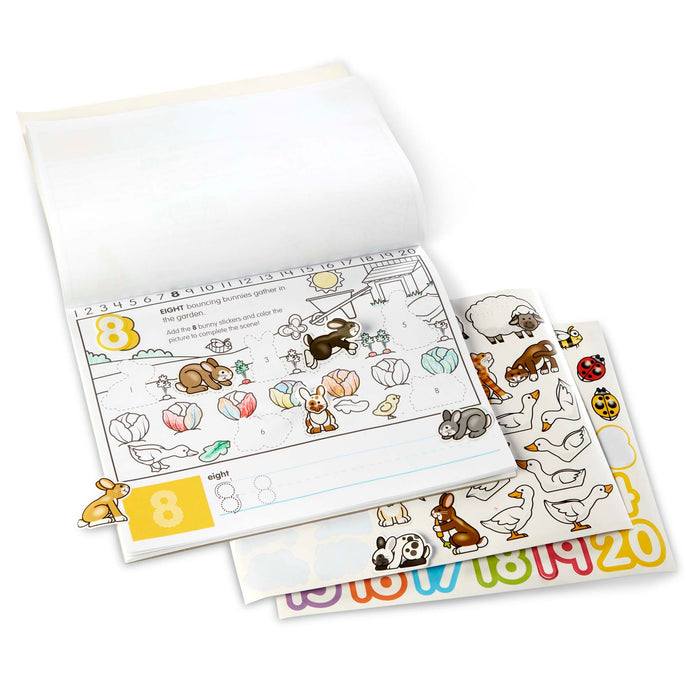Numbers Activity Pad - JKA Toys