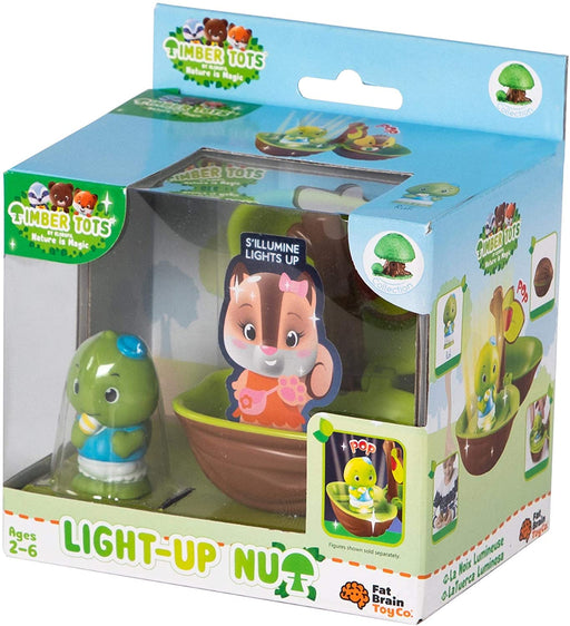 Timber Tots Light Up Nut - JKA Toys