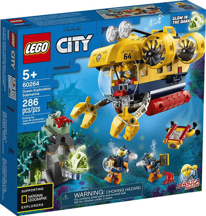 LEGO City Ocean Exploration Submarine - JKA Toys