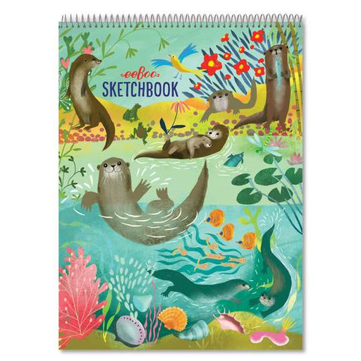 Otters At Play Sketchbook - JKA Toys