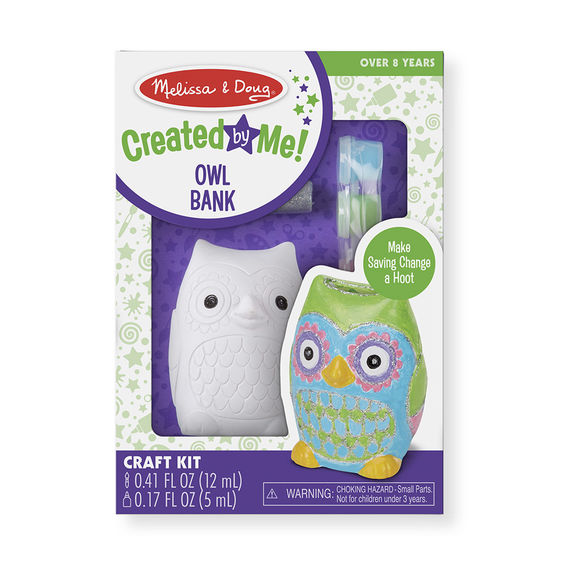 Decorate Your Own Owl Bank - JKA Toys