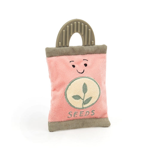 Whimsy Garden Seed Packet Rattle - JKA Toys