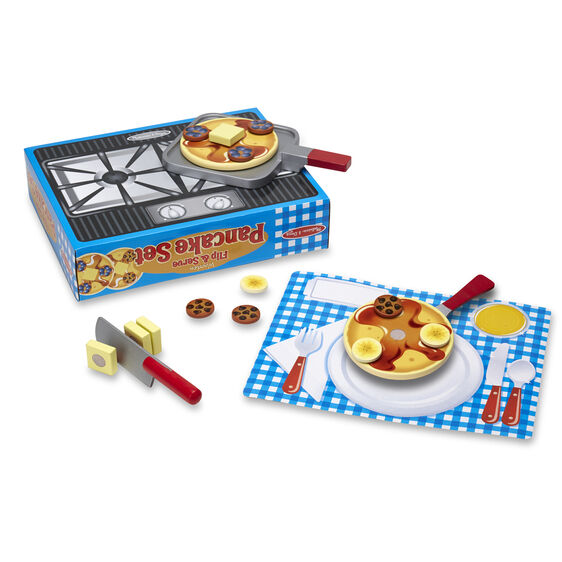 Flip & Serve Pancake Set - JKA Toys