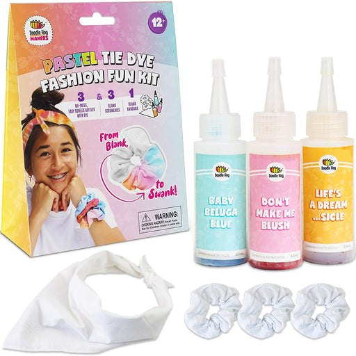 Pastel Tie Dye Fashion Fun Kit - JKA Toys