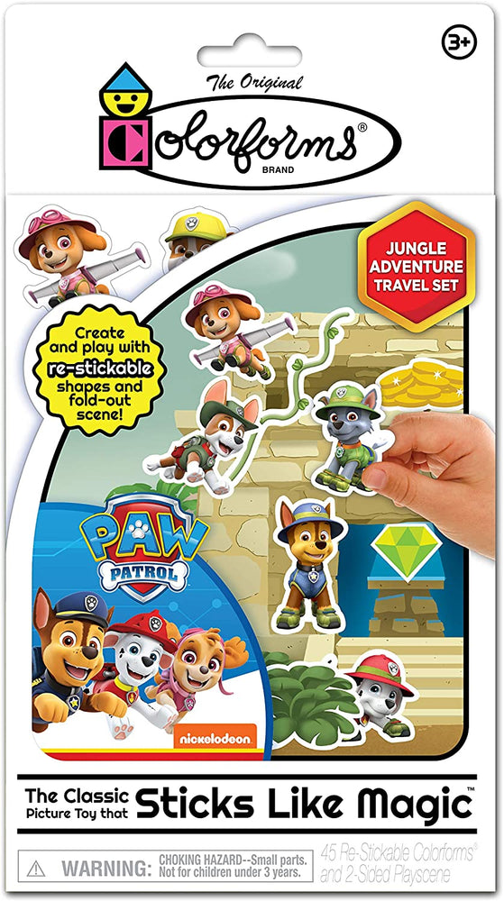 Paw Patrol Travel Colorforms - JKA Toys