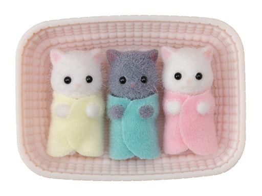 Calico Critters Persian Cat Triplets - JKA Toys