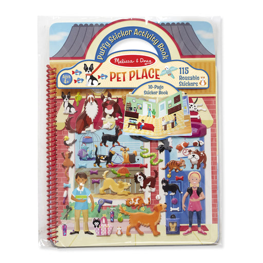 Pet Place Puffy Sticker Book - JKA Toys