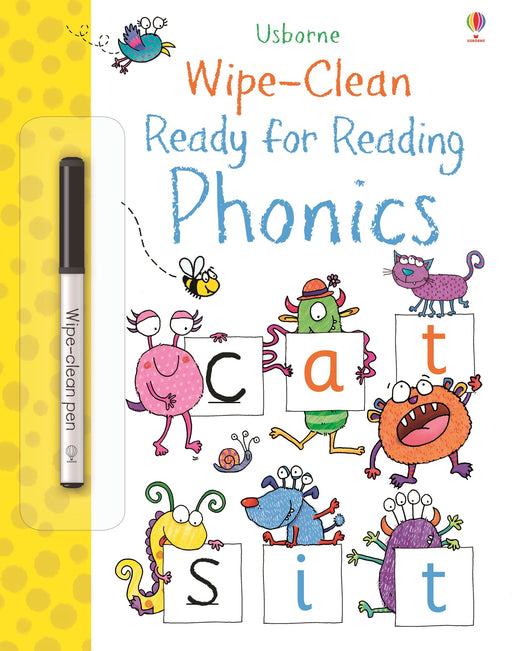 Wipe-Clean Ready For Reading Phonics - JKA Toys