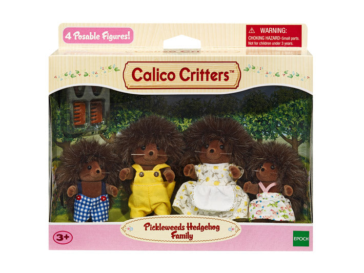 Calico Critters Pickleweeds Hedgehog Family - JKA Toys