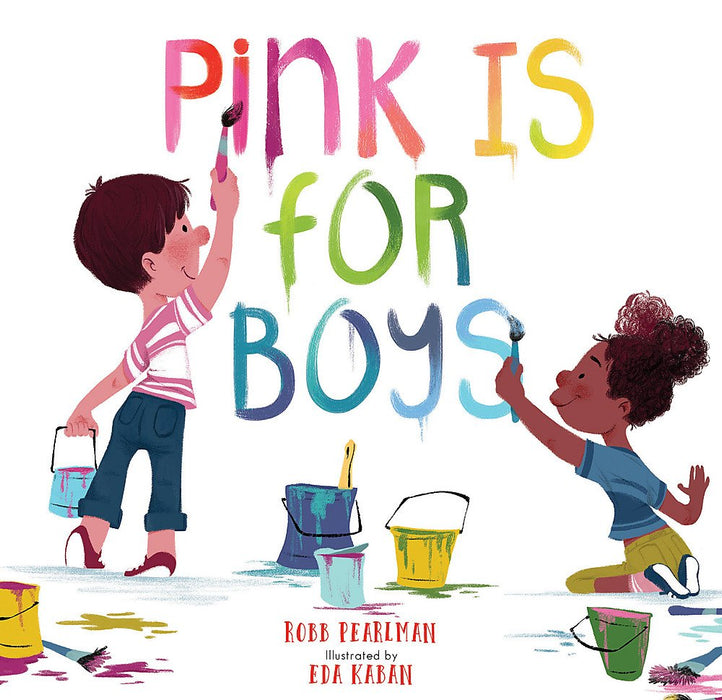 Pink Is For Boys - JKA Toys