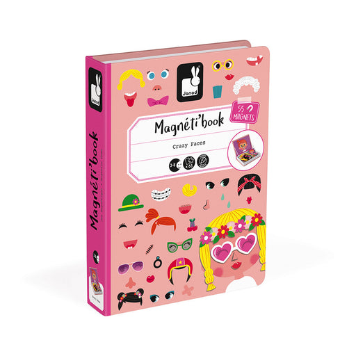Pink Crazy Faces Magneti'Book - JKA Toys