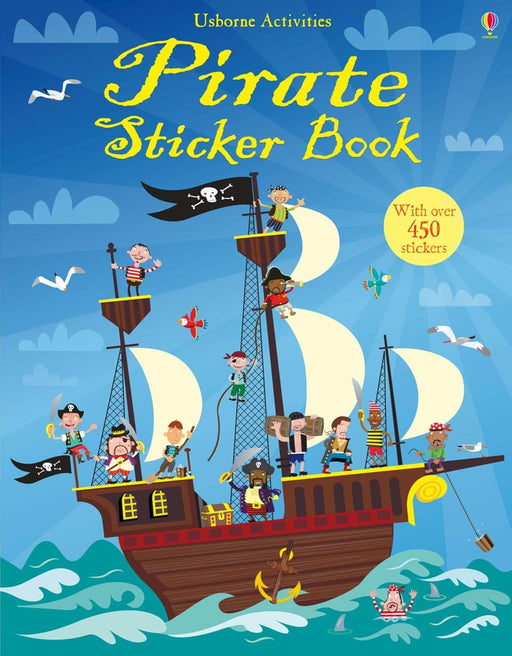Pirate Sticker Book - JKA Toys