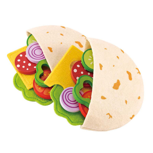 Pita Pocket Pretend Play Food Set - JKA Toys