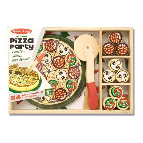 Pizza Party Play Food - JKA Toys