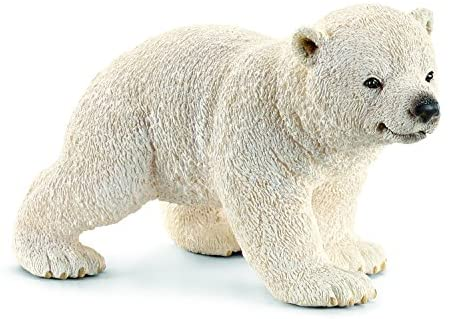 Polar Bear Cub Figure - JKA Toys