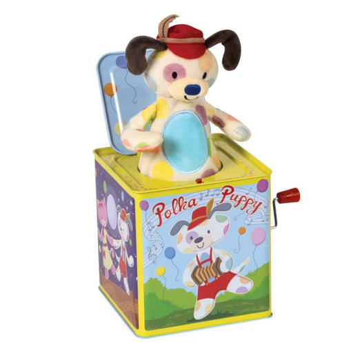 Polka Puppy Jack In The Box - JKA Toys