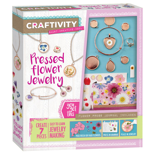 Pressed Flower Jewelry - JKA Toys
