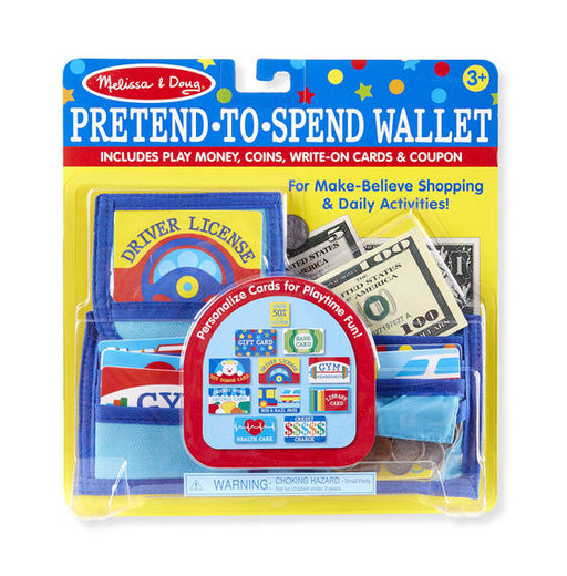 Pretend-To-Spend Wallet - JKA Toys