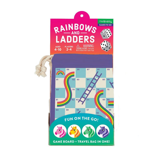 Rainbows and Ladders! Travel Game - JKA Toys