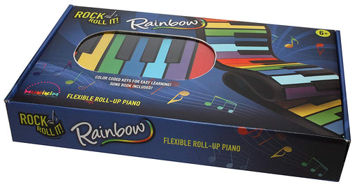 Rock & Roll It Rainbow Roll Up Piano