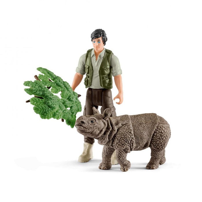 Ranger and Rhinoceros Starter Set - JKA Toys