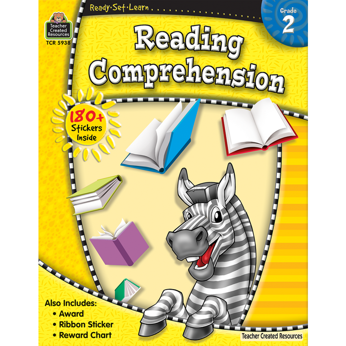 Ready Set Learn Workbook: Grade 2 - Reading Comprehension - JKA Toys