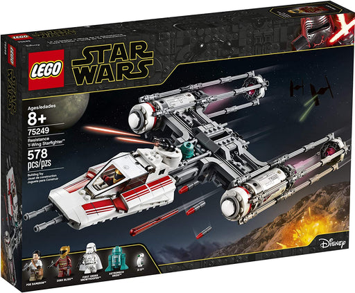 LEGO Star Wars: Resistance Y-Wing Starfighter - JKA Toys