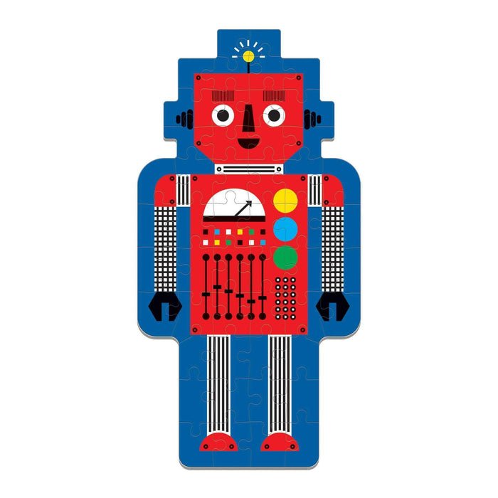 Robot 50 Piece Shaped Puzzle - JKA Toys