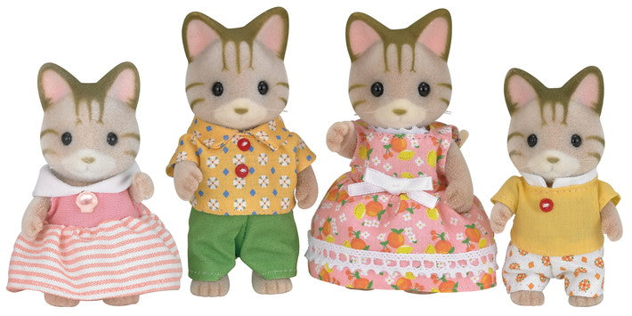 Calico Critters Sandy Cat Family - JKA Toys