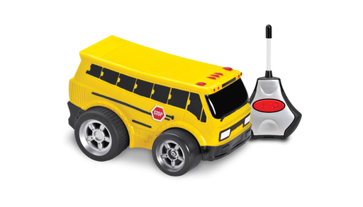 R/C Soft Body School Bus - JKA Toys