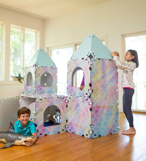 Sea Castle Build A Fort - JKA Toys