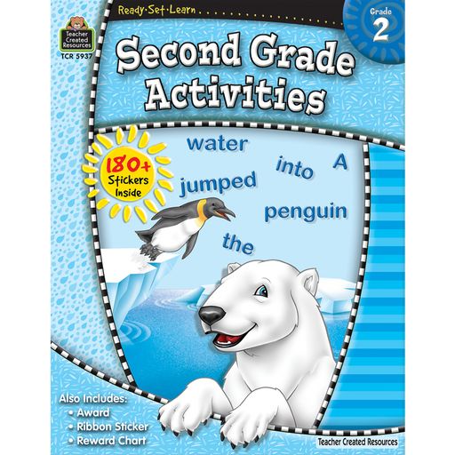 Ready Set Learn Workbook: Second Grade Activities - JKA Toys