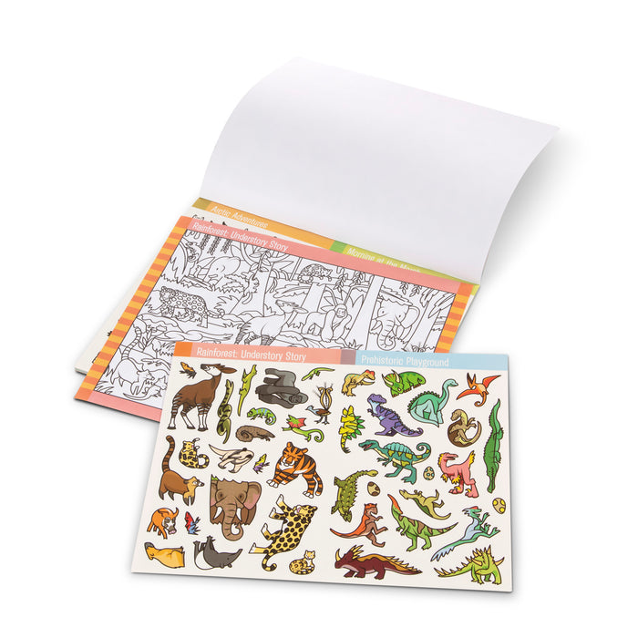 Seek & Find Sticker Pad: Animals - JKA Toys