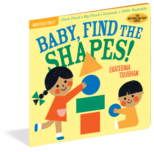 Indestructibles: Baby, Find The Shapes! Book - JKA Toys