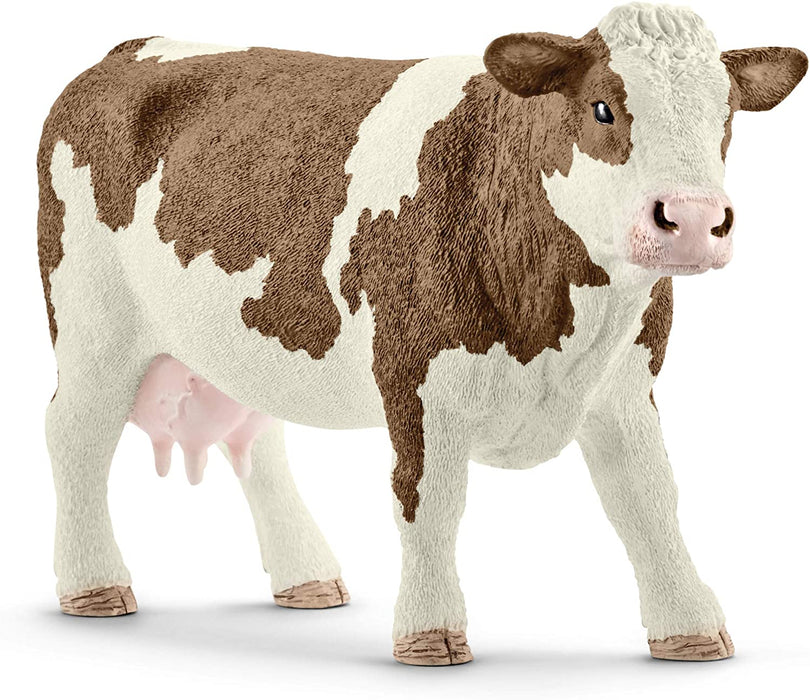 Simmental Cow Figure - JKA Toys