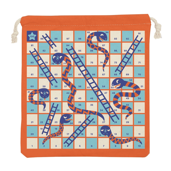Snakes & Ladders Travel Game - JKA Toys
