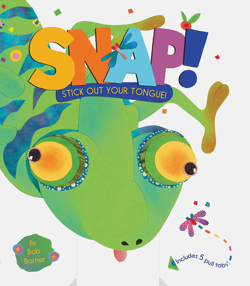 Snap! Stick Out Your Tongue! Board Book - JKA Toys