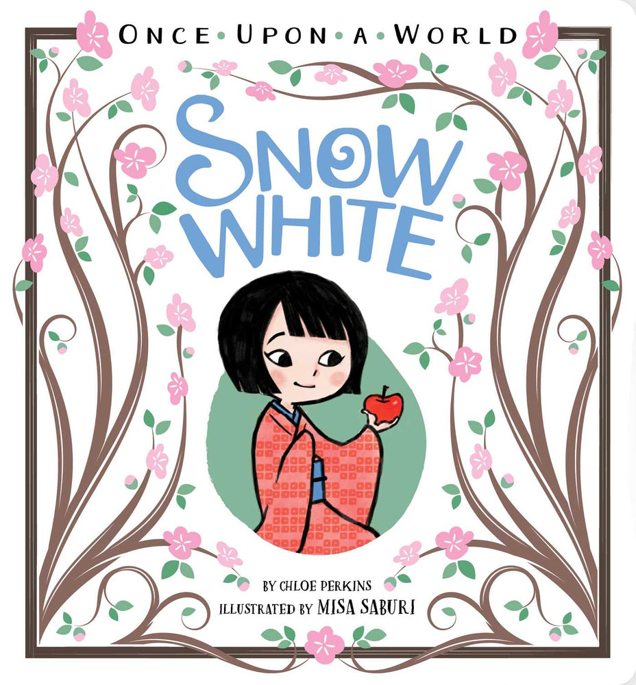 Once Upon a World Snow White Board Book - JKA Toys
