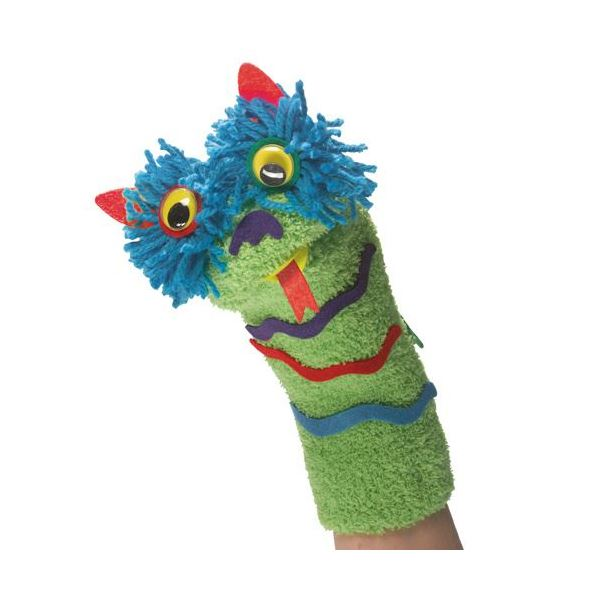 Make Your Own Sock Puppets - JKA Toys