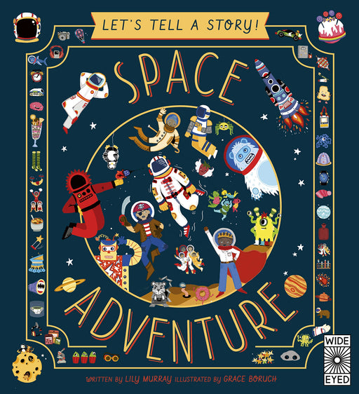 Let's Tell A Story! Space Adventure Hardcover Book - JKA Toys