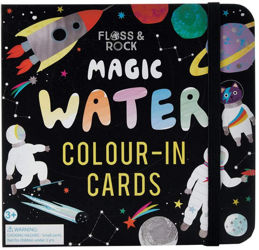 Space Magic Water Color-In Cards - JKA Toys