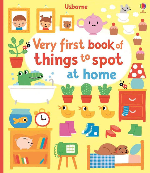 Very First Book of Things To Spot At Home - JKA Toys