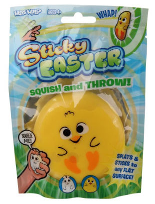 Sticky Easter Squish & Throw - JKA Toys