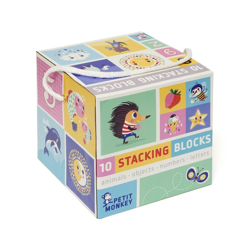 10 Stacking Blocks