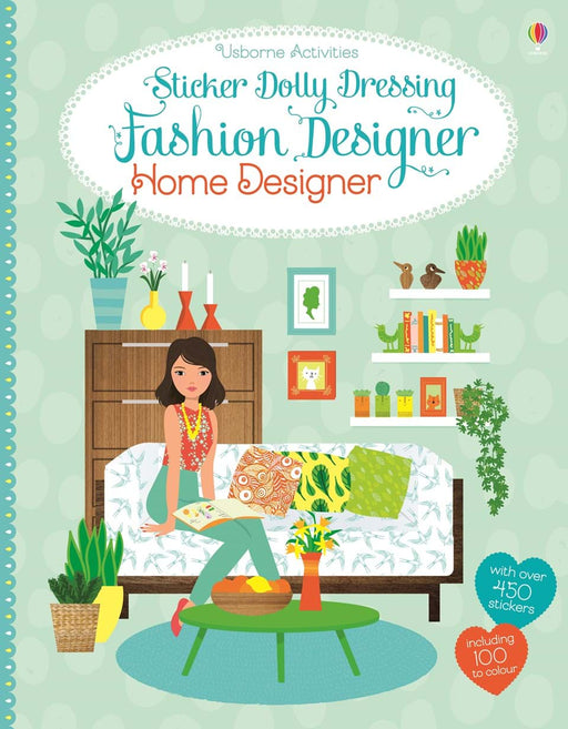Sticker Dolly Dressing Home Designer - JKA Toys