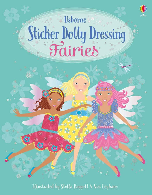 Sticker Dolly Dressing Fairies - JKA Toys