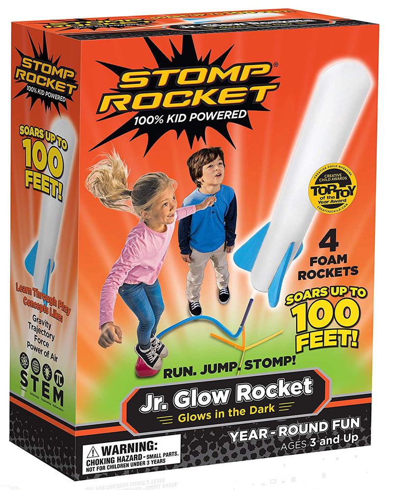 Stomp Rocket Jr. Glow - JKA Toys