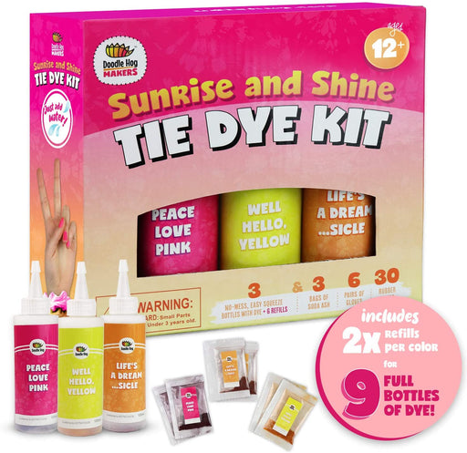 Sunrise & Shine Tie Dye Kit - JKA Toys