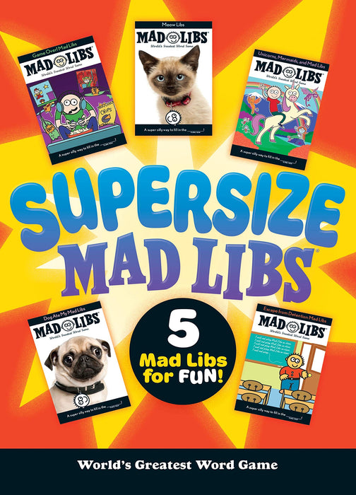 Supersize Mad Libs - JKA Toys